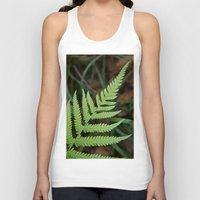 fern Tank Tops featuring Fern by Todd Langland