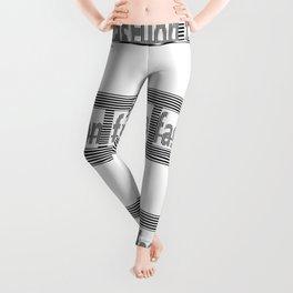 Fashion B and W Leggings