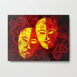 Theater  Live on Stage Metal Print