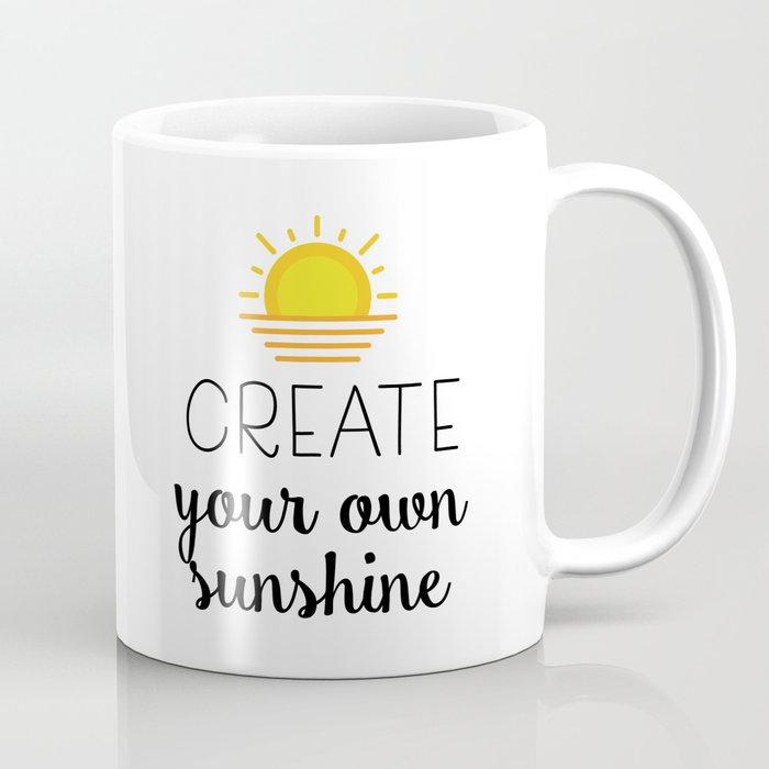 By Catmustache Own Sunshine Mug Coffee Your Create SULGpjVqzM