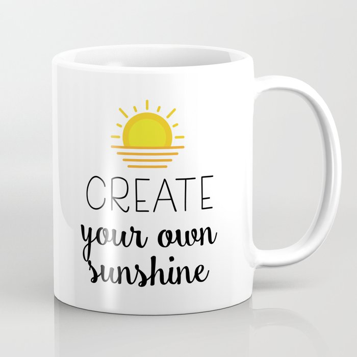f68d178cf Create Your Own Sunshine Coffee Mug By Catmustache Society6