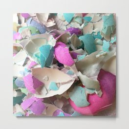 Eggshells Metal Print