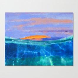sunsetting Canvas Print