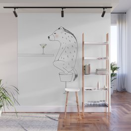 HYENA Wall Mural