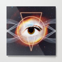 Cosmic Sight Metal Print