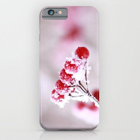 Red Berries Quadro iPhone & iPod Case