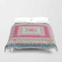 square Duvet Covers featuring Square by Truly Juel