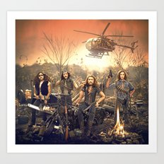 The Sheepdogs Art Print