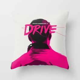DRIVE Throw Pillow