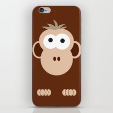 Minimal Monkey iPhone & iPod Skin