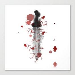 Nevernight (Never Fear) Canvas Print
