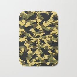 Bird Camouflage 5 Bath Mat