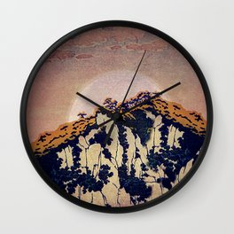 Guiding me across Nobe Wall Clock