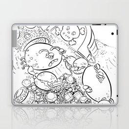 Buried Treasure - ink Laptop & iPad Skin
