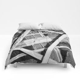 Spaghetti Junction Comforters