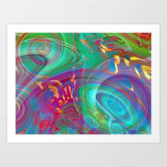 Song of the Sirens Art Print