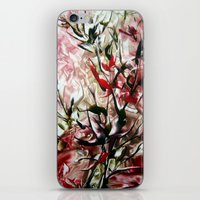 magnolia iPhone & iPod Skins featuring Magnolia by ART de Luna