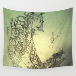 Old One Wall Tapestry
