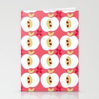 apple Stationery Cards featuring apple by ottomanbrim