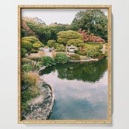 Zen Garden Serving Tray