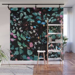 Great Nature Explosion at Night Wall Mural