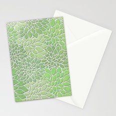 Floral Abstract 30 Stationery Cards