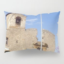 Medieval Church of Aidone in Sicily Pillow Sham