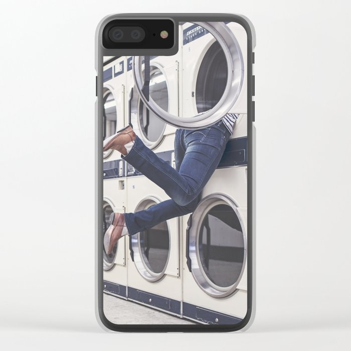 laundry Clear iPhone Case