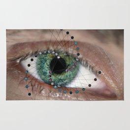 The Geometric Eye Rug