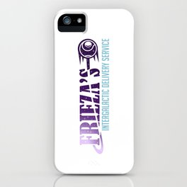 Frieza's Intergalactic Delivery Service iPhone Case