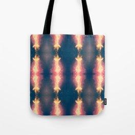 Firework Champagne  Tote Bag