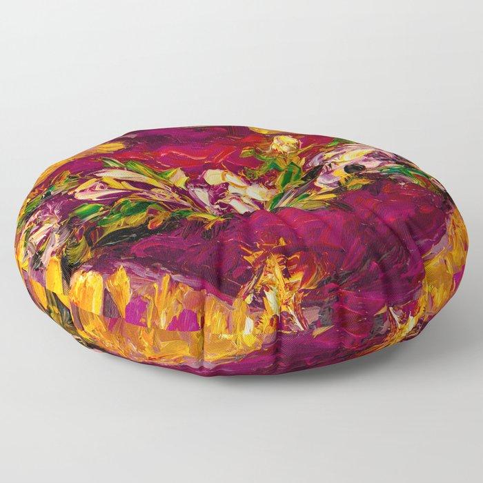 Sacred love II Floor Pillow