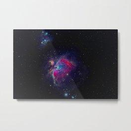 Galaxy Shot (Color) Metal Print
