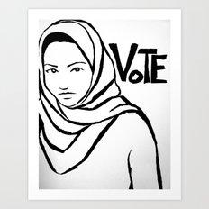 Vote!!!  Art Print