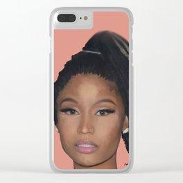 Minaj the Barbie Clear iPhone Case