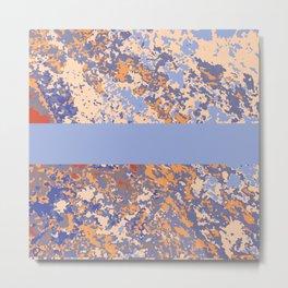 Natalie Granite Metal Print