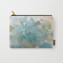 Ocean Hue Sea Glass Carry-All Pouch