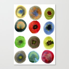 Consider the Circle 01 Canvas Print