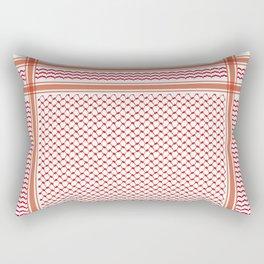 RED KOFIA Rectangular Pillow