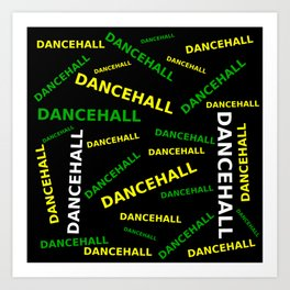 Dancehall wear Art Print