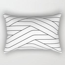 Lines 01 Rectangular Pillow