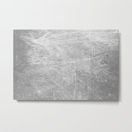 Abstract black and white Metal Print