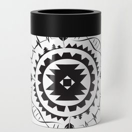 Native Amrican STEM Mandala Southwestern Can Cooler