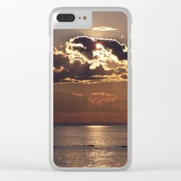 Shadows from Above Clear iPhone Case