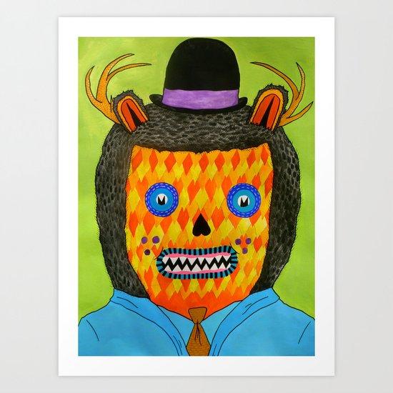 Self Portrait #2 Art Print