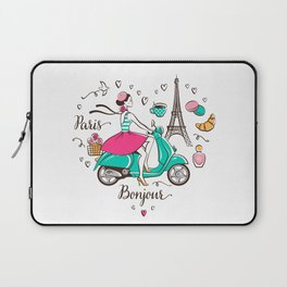 Paris is love Laptop Sleeve