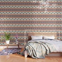 Native American Geometric Pattern Wallpaper