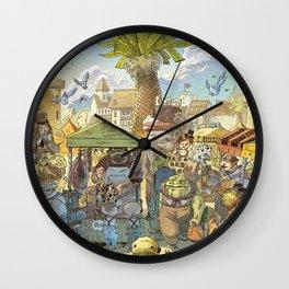Le marché Wall Clock
