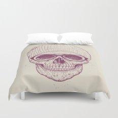 Cool skull Duvet Cover