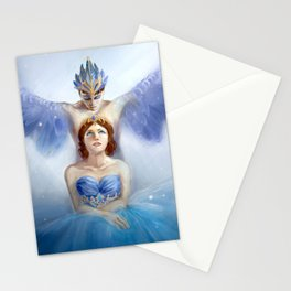 Bluebird and Florine Stationery Cards